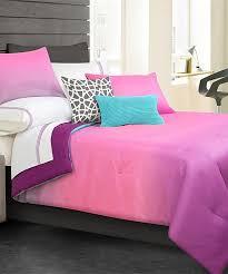 pink ombré comforter set
