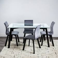 kitchen stuff plus marlowe grey dining table and
