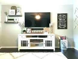 bedroom wall decorating ideas. Wall Mounted Tv Ideas Bedroom Living Room Best . Decorating E