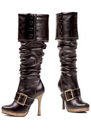 meval leather boots y buckle pirate boots jpg