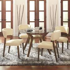 coaster paxton 12218 5 piece round dining table set with side chairs coaster fine furniture