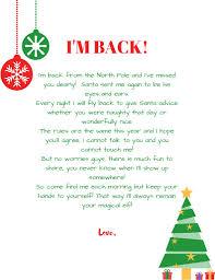 IM BACK Elf on the shelf arrival letter Free printable1 resize=791 1024