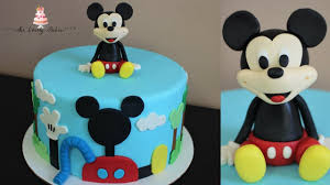 Ideas Mickey Mouse First Birthday Cake Coles 1st Birthday