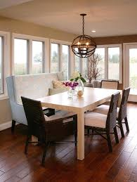 dining room table with upholstered bench. Dining Room Upholstered Bench Charming Tables Table With H