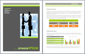 Ms Office Proposal Template Microsoft Office Proposal Template
