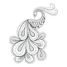 Peacock Coloring Book Coloring Pages Peacock Coloring Book