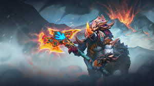 magnus dota 2 footprints of bygone d wallpaper 19937