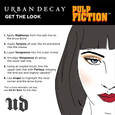 urban decay pulp fiction how to featuring the new pulp fiction palette sephora eyeshadow