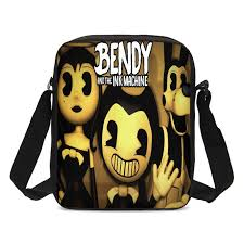 <b>2019 New</b> Crossbody Bags for Kids Boys Girls Cartoon <b>Bendy and</b> ...