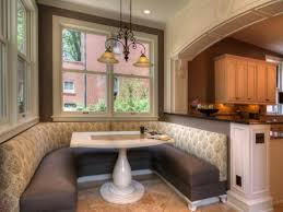 Simple Kitchen Decor Pleasant Kitchen Booth Seating For Home Simple Kitchen Decor Ideas