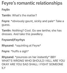 one of the many reasons i love rhysand a court of thorns and one of the many reasons i love rhysand