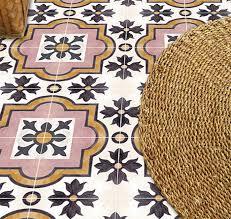 Patterned Linoleum Flooring Classy Patterned Peel Stick Floor Tiles DesignSponge