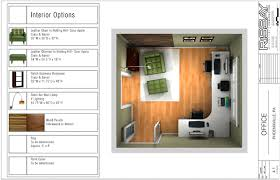 home office plan. Home Office Plan F