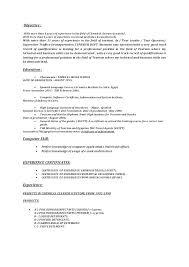 Cleaner Sample Resume Cleaning Resume Sample Housekeeping Resume ...