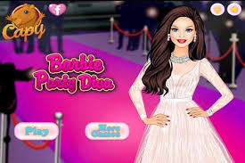 play barbie party diva