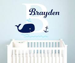 nautical nursery wall decals popular wall decal baby names wall decal baby names lots