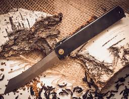 <b>Нож складной</b>, <b>клинок</b> 80мм Hight carbon, рукоять черная, Nagao ...
