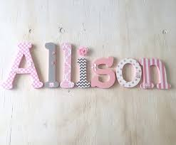 decent nursery wooden hanging wall letters hanging wall letters uk