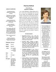 Acting Resume My Acting Resume The Sundial Humor Magazine 88