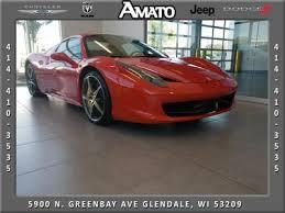 1 positive , low miles; Ferrari 458 Spider Bases For Sale Auto Com