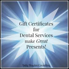 dental gift certificates make great presents hayden consulting dental gift certificates make great presents hayden consulting where your success in business and life matters
