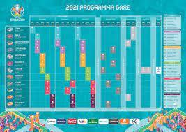 Il calendario ufficiale di UEFA EURO... - Roma UEFA EURO 2020