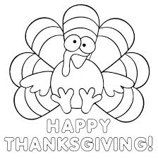 Happy Thanksgiving Coloring Pages Printable Happy Thanksgiving Happy
