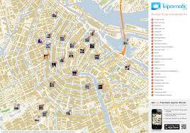 fileamsterdam printable tourist attractions map  wikimedia