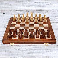105 Magnetic Wooden Travel Chess Game Chess Set Premium Wooden Chess Board Magnetic Folding Tournament 55