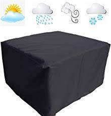 furniture covers outdoor. FLR Patio Table Cover Square Black Waterproof Outdoor Dinner Protector Dust-proof Desk Furniture Covers