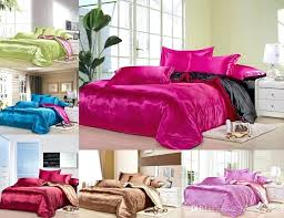 pink and black bedding custom size solid color bedding set deep pink black two colors flat pink and black bedding