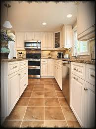 Traditional Kitchen Style Two Tone Antique Most Usual Good Looking