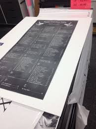 Wedding Seating Chart Staples Seating Chart Printing At Staples For 4 Ask For An