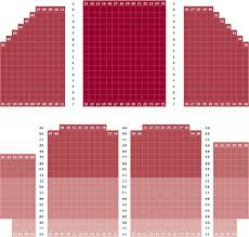 Alabama Shakespeare Festival Seating Chart Seating Information