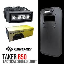 Foxfury Lights Us 598 99 Foxfury Led Lights Tactical Shields Light B50 In Self Defense Supplies From Security Protection On Aliexpress