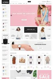 Best Free Fashion Design Software Actiquer Opencart Template 71516 Ecommerce Web Design