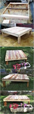 used pallet furniture. Hairy Diy Wood Pallet Garden Table Create Something By Recycling Used Pallets Ideas Wooden Furniture