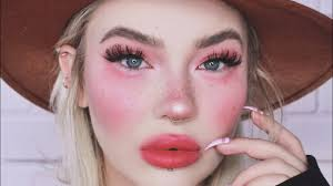 very tired very chatty grwm all pink makeup tutorial get ready with me