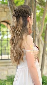 Prom Hair Style Up braided half up prom hairstyles cute girls hairstyles 6145 by wearticles.com