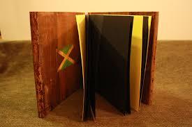 wood book cover binder