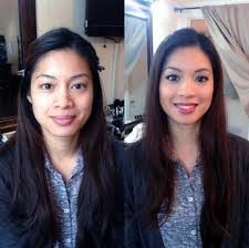 filipina makeover before and after picture