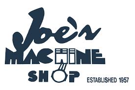 machine shop logo. joe\u0027s machine shop logo