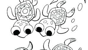 Mutant Ninja Turtles Coloring Pages Color Turtle Free Big Head Small