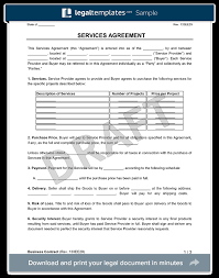 business services template business contract create a free business contract