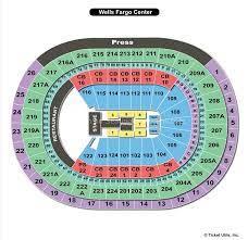 philadelphia pa seating chart