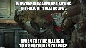 Despairing Deathclaw Meme Generator - Imgflip via Relatably.com