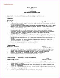 Resume For Maintenance Engineer Mechanical Oneswordnet
