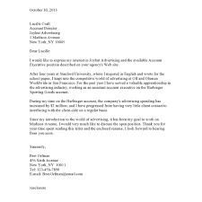Cover Letter Samplesvaultcom Sample For Internship Accounting Resume