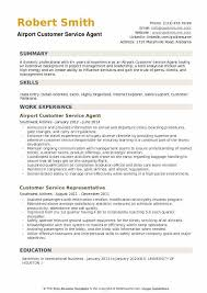 Airline Customer Service Agent Resume Beauteous Airport Customer Service Agent Resume Samples QwikResume