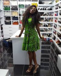 ini edo and her luxury shoes and bags closet photos